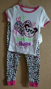 Conscientious Girls/toddler I Love Hugs Pajama Size 3t Nwt Baby & Toddler Clothing