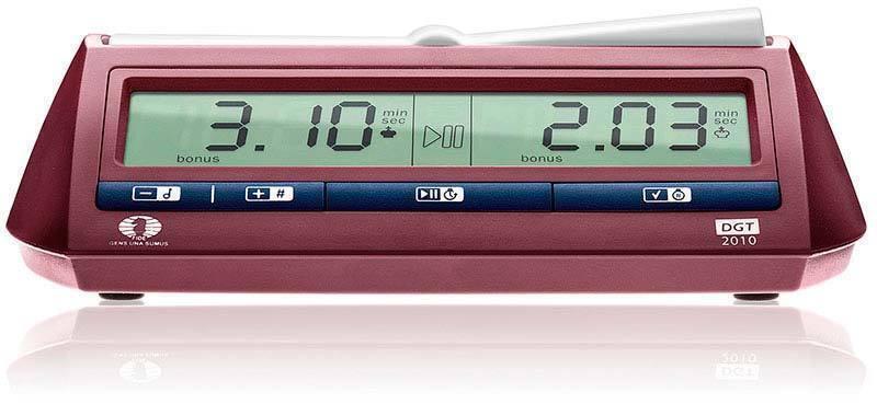 Reloj digital de ajedrez DGT 2010