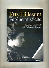 Cristiana Dobner # ETTY HILLESUM - PAGINE MISTICHE # Àncora 2007