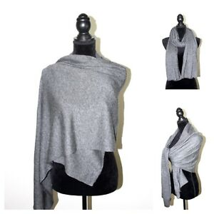 Scarf-100-Cashmere-Shawl-Knit-Wrap-Blanket-Pashmina-Soft-Warm-Mens-Ladies-Gift