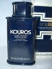 KOUROS YSL   '80 INVIGORATING AFTER SHAVE LOTION 100 ml RARE VINTAGE