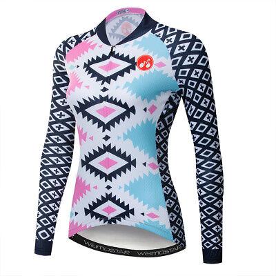 Women/'s Cycling Jersey Clothing Bicycle Sportswear Short Sleeve Bike Shirt  F35