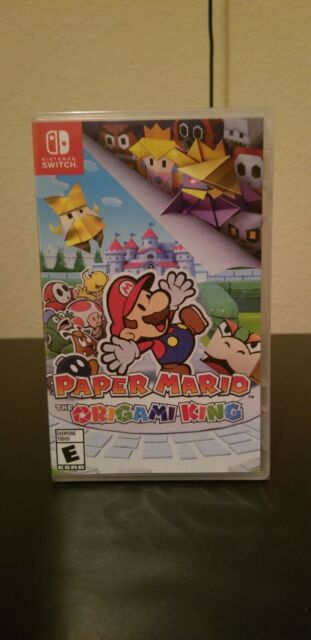 Paper Mario: The Origami King --(Nintendo Switch, 2020) Fast Ship Read Below