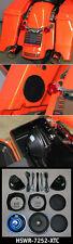 J&M ROKKER XT Dual 7.25 Harley Saddlebag Sub-Woofer Speaker 98-13