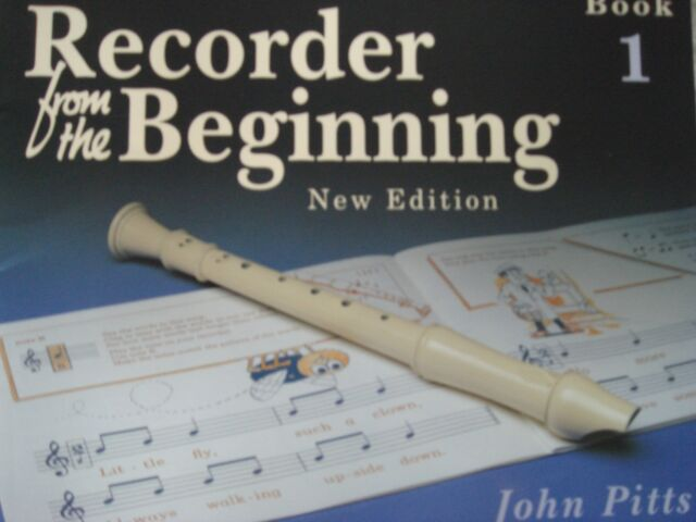 Recorder From The Beginning New Edition Music Book 1 Pupil's 7-11 Yrs Pitts S155