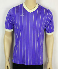 VINTAGE PUMA PURPLE WEST GERMANY FOOTBALL JERSEY MAGLIA MAILLOT T SHIRT RARE S