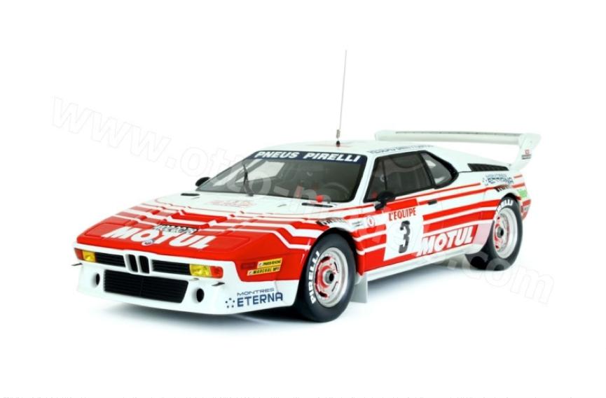 OTTO OT126 BMW M1 GROUP B RALLY CAR TOUR DE CORSE 1983 1 18 BNIB MIB
