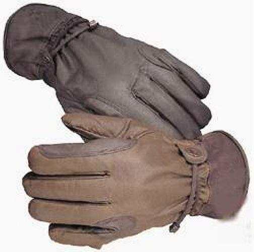 Mit Lederbesatz WAX Wachs Handschuh Handschuh Handschuh Handschuhe Waxcotton wasserabweisend b152a0