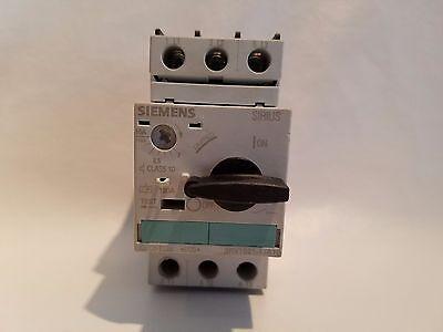 siemens 1-10 amps manual motor starter protections 3RV1021-1JA10   G//040426.E05