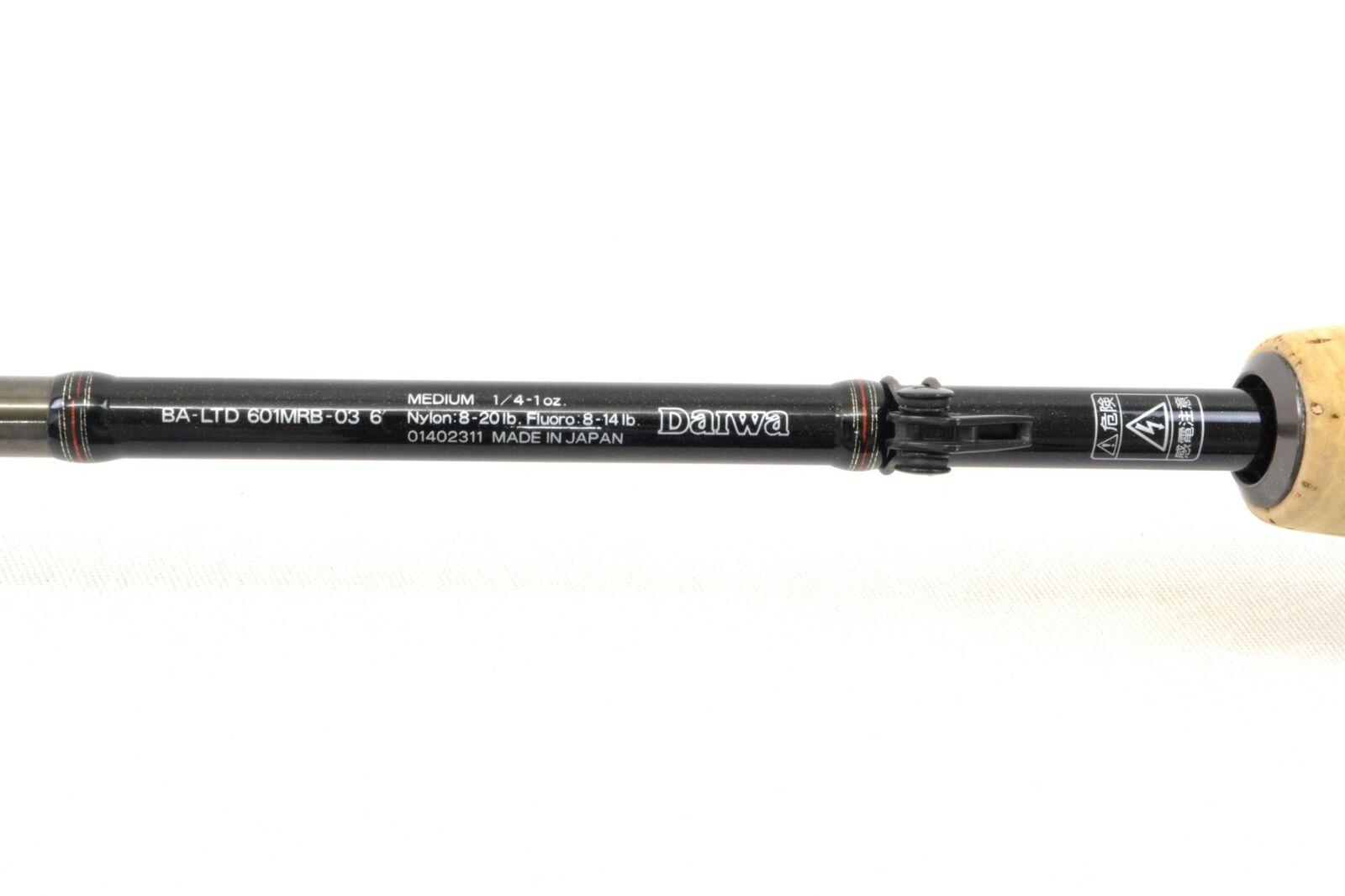 Usado Battler Limited Ba-Limited 601MRB-03 Raptor limitada Casting Rod F S de Japón 891
