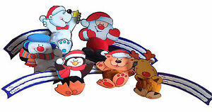 6-x-Self-Adhesive-3D-Luxury-Christmas-Gift-Tags-Santa-Rudolph-Snowman-etc