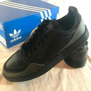 NIB-Adidas-Originals-Supercourt-Shoes-Men-039-s-Size-11-Black-Skate-Sneakers