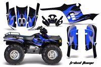 Amr Racing Atv Graphic Kit Polaris Sportsman 500 Decal Sticker 95-04 Tribal Blue