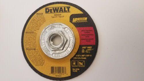 DEWALT METAL-STAINLESS CUTTING WHEEL 41//2 X .045 X5//8-11 ARBOR