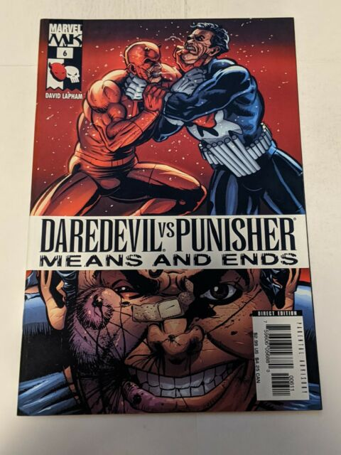 Daredevil Vs Punisher Means And Ends #6 January 2006 Marvel Comics