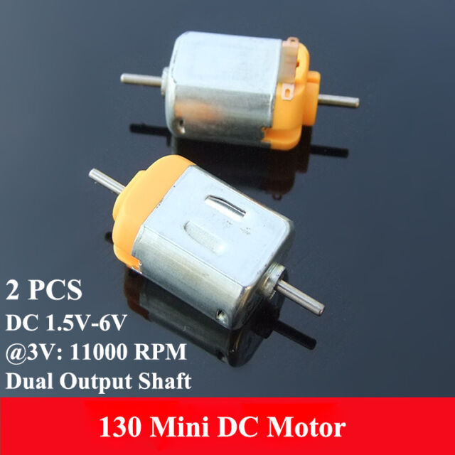 5 x RC Boat Model Toys DIY DC 1.5-3V 12000RPM Electric Micro Motor