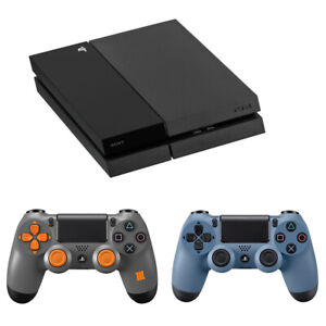 Sony PlayStation 4 PS4 500GB Jet Black + DUALSHOCK Limited Edition Controller