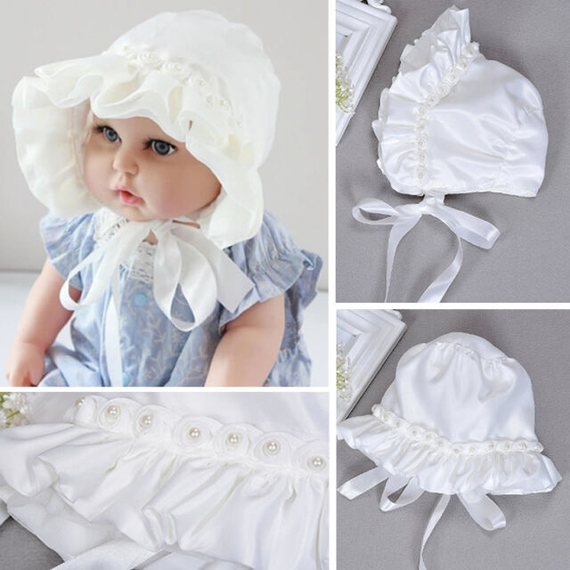 b03d93f5025 Baby Girl Newborn Caps Toddler Pearl Lace Hat Cap Beanie Bonnet Hair  Accessories
