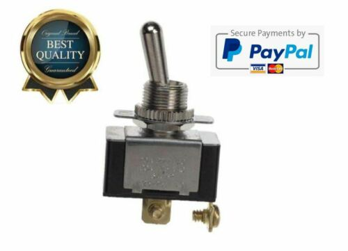 ON-OFF GSW-110 Electrical Toggle Switch SPST O Ring//Screw 20 A//125V AC