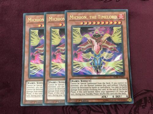 Yugioh 3x Michion The Timelord BLRR-EN021