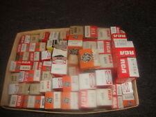 Lot of 45 Vacuum tubes Electron Tubes RCA GE Hytron Sonotone  in Original boxes