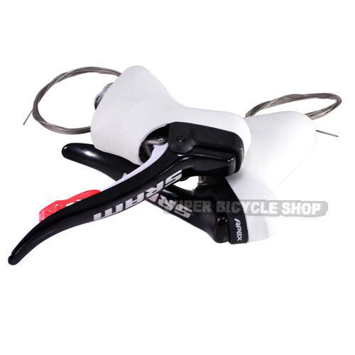 SRAM Apex Double Tap Road Bike Gear   Brake Levers , Weiß