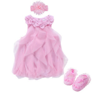 baby-girls-summer-dress-bodysuit-headband-shoes-party-dress-baby-photo-props