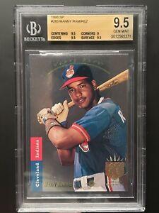 1993-SP-MANNY-RAMIREZ-FOIL-285-ROOKIE-RC-CARD-GEM-MINT-BGS-9-5-PSA-10
