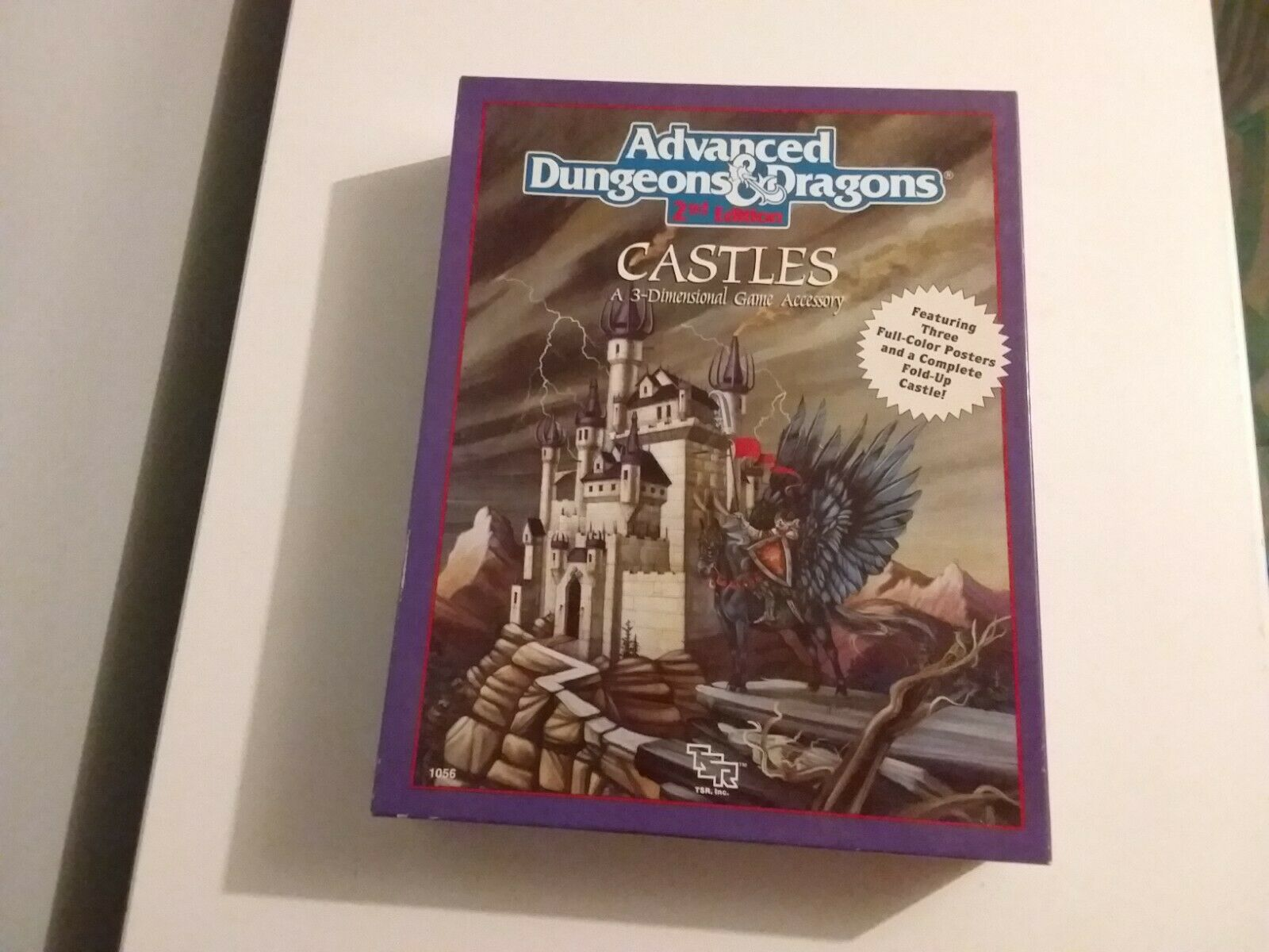 Avancerade Dungeons och drakes 2 a utgåvan slott A 3 - Storlekllt speltillbehör