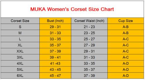 """Women Underbust Corset Top Waist Boned Bustier White Brocade for Waist 27/""""-31/"""""""
