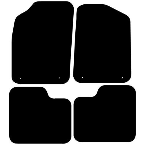Car Mats 2014-2018 Fully Tailored Black Floor Mats Fiat 500