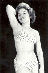 ORIGINAL VINTAGE 1940S-50S Nude Sepia RP- Blond- Bends