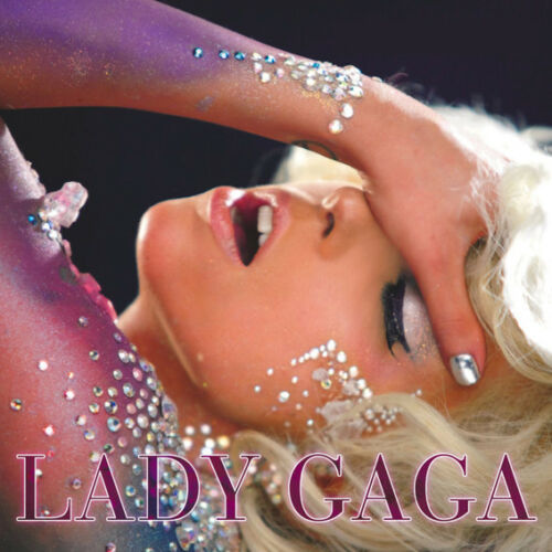 "Lady Gaga Rap Music Singer Star Art Wall Fabirc Poster 24/""x24/""  L052"
