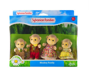Sylvanian Families Calico Critters Darwin Singe Famille