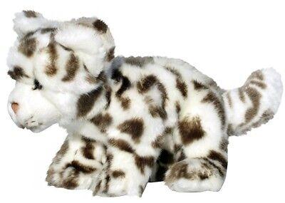 Schneeleopard 19 cm weich Kuscheltier Plüsch Kollektion WWF 00045