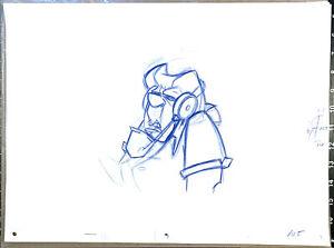 Atlantis 2001 Packard Walt Disney Key Production Animation Cel Drawing 105
