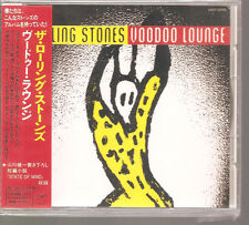 "ROLLING STONES ""Voodoo Lounge"" Japan Sample Promo CD + OBI"