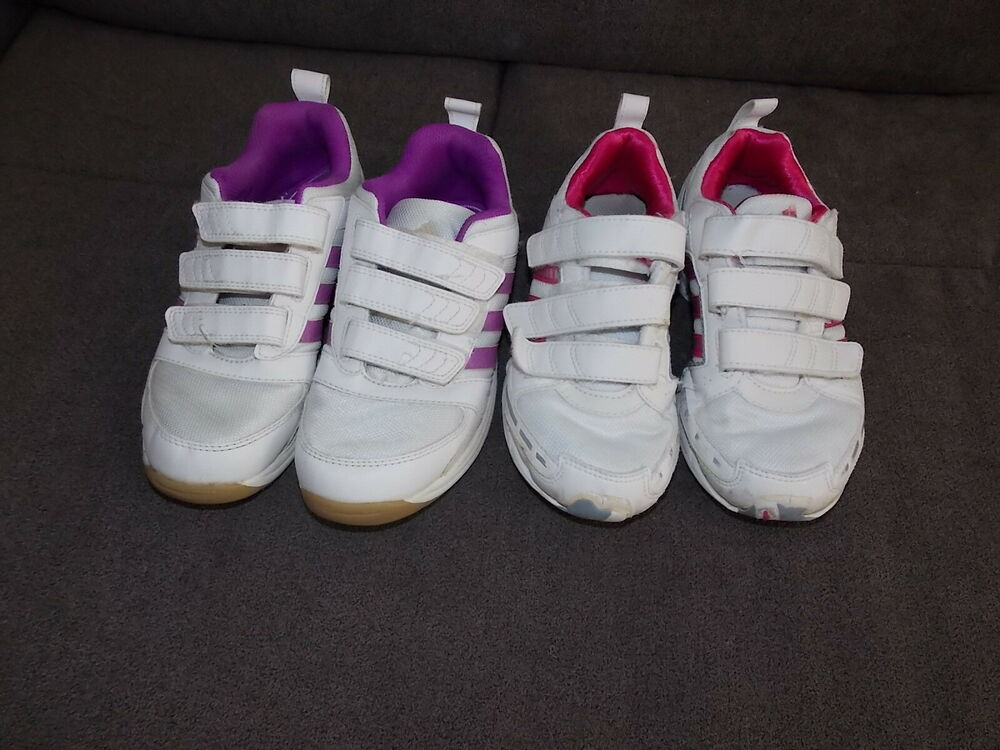 UnabhäNgig Mädchen Turnschuhe Adidas 2 Paar Gr.32: Schuhe In