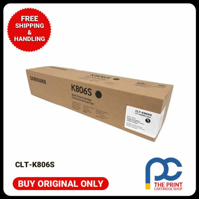 New & Original Samsung CLT-K806S  Black Toner Cartridge