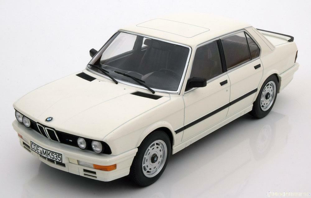 1 18 Norev BMW M535i E28 1986 Weiß