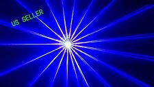 1W Blue Laser Light Animation 3D ILDA DMX SOUND AUTO DJ DISCO PARTY 1000mw Laser