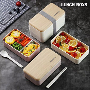 Lunch-Box-Food-Container-Sandwich-Storage-Box-Double-Layer-Container-Box-Set