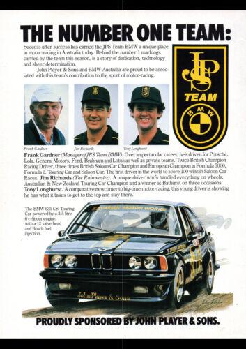 "1996 BMW 635CSI JPS RACING PRINT WALL POSTER PICTURE 33.1/""x23.4/"""