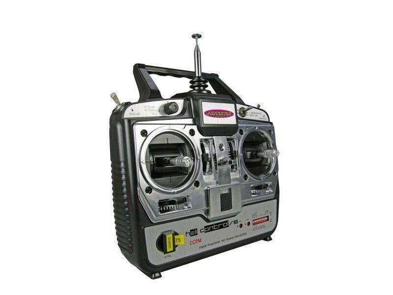 Radiocommande 6 voies Héli mode 1 Jamara
