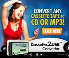 Covert Any Cassette Tape to CD or MP3