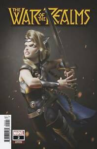 War-of-the-Realms-2-1-25-Hugo-Variant-Marvel-Comic-1st-print-2019-unread-NM