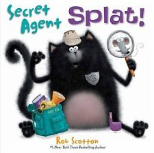 SPLAT THE CAT Secret Agent Splat! (Brand New Paperback Version) Rob Scotton