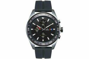 LG-Watch-W7-LM-W315-Smartwatch-Edelstahl-Gummi-22mm-Schwarz-Silber-NEU