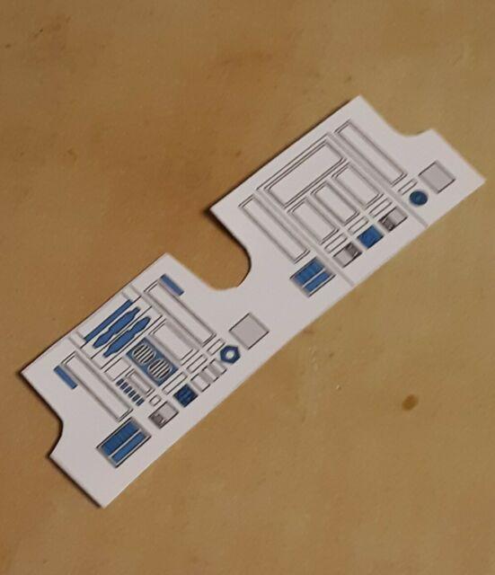 Vintage Star Wars R2D2  Replacement Sticker Labels