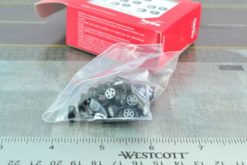 Herpa 053372 20 Wheel Sets For PORSCHE Cars 1:87 HO Scale